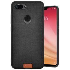 Cover Case Antiurto Spessa Xiaomi Mi 8 Lite Youth Frame Antishock Frosted Nero
