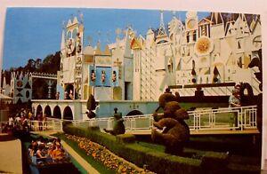 Disneyland It's a Small World Fantasyland Postcard Old Vintage Card View Post PC
