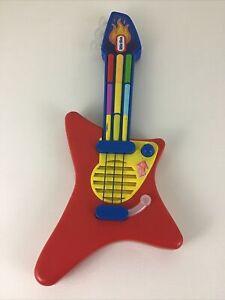 Little Tikes Pop Tunes Big Rocker Guitar Musical Instrument Vintage 90s Toy