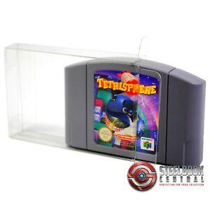 10 x GP4 N64 Game Cart Cartridge Protectors for Nintendo 0.4mm PET Case