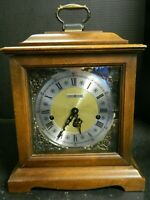 Vintage Howard Miller Westminster Chime Mantle Clock Model 4999 Very Good Cond