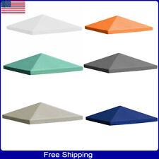 Outdoor Gazebo Top Tent Pavilion Cover Sunshade Canopy Replacement 0.68lb/m²