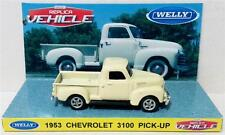 WELLY 1953 CHEVROLET 3100 PICK-UP Diecast Replica Vehicle Car on Custom Display