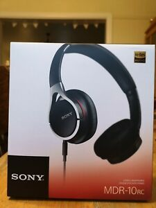 Sony MDR-10RC Overhead Lightweight Folding Headphones - Black (LIMITED STOCK)