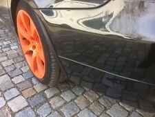 für JAGUAR tuning felgen 2x Radlauf Kotflügel Leisten Verbreiterung CARBON 35cm