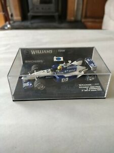 Minichamps F1 1/43 WILLIAMS BMW FW22 RALF SCHUMACHER second half of season