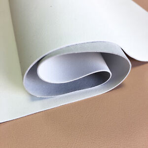 Soft WHITE Leather Sheet 12x18in/30x45cm Snow White Genuine Leather Scraps 2.25