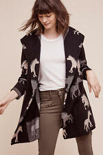 NWT Anthropologie Dressage Sweatercoat Horse Pony Size L