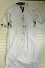 Forecast Pakistan Clothing Co White Long Semi Sheer Dress Womens Size Small