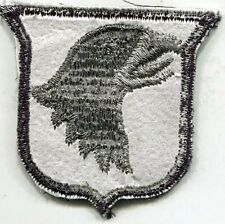 US Army 101st Airborne Division ACU Patch with Rare White Back