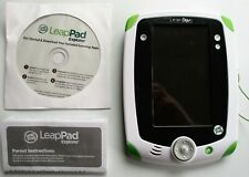LEAP FROG LEAP PAD EXPLORER TABLET #32200 WITH STYLUS & CD. PREOWNED.