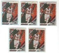 x5 JIMMY BUTLER 2019-20 Donruss Optic #11 Silver Wave Prizm lot/set Miami Heat!!