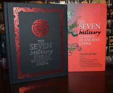 Seven Military Classics Ancient China Art of War New Deluxe Hardcover Slipcase