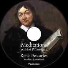 Meditations on First Philosophy  - MP3 CD Audiobook in paper sleeve