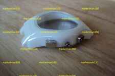 White ceramic watch shell/case/housing  to fit AR1403 armani watch movement