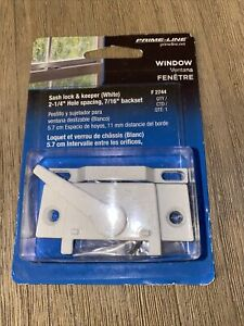 Prime-Line F 2744 Sash Lock, Single Unit, White – Diecast, White (t78)