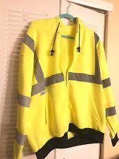 Radians Sj01-3Zgs-L Large Class 3 Hooded Sweatshirt - Green