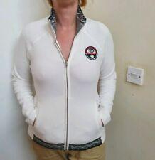 Napapijri Fleece Jacket Size Medium Uk 10/12