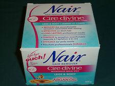 Nair Cire Divine Moroccan Argan Oil Legs & Body Wax kit 400g