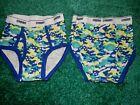 1 Pair NWOT Size XS 3-4 4 Gymboree Boys CAMO CAMOUFLAGE Briefs Underwear