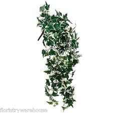 Artificial Silk Ivy Plant Trailing Variegated Medium Leaf 80cm/32 Inches