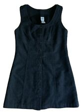 Vintage Gap Wool Blend Jumper Dress 90s Womens Sz 4 Lined Button Front Overalls