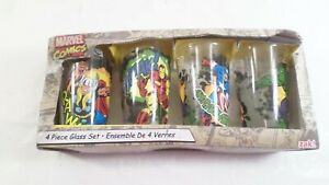NIB Marvel Comics Zak! Set of $ 16oz Avengers Glasses
