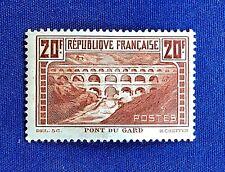 France 1929 *** Le Pont du Gard *** Y&T N° 262 *** Sans Charnière TTBE