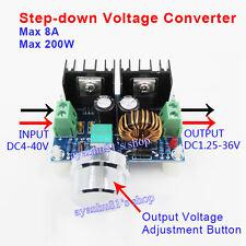 8A 100W DC-DC XL4016E1 Voltage Step Down Module 4-40V to 1.25-36V PWM Regulator