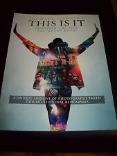 Michael Jackson Memorabilia- This Is It - Discover The Man You Never Knew Book
