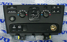 Volvo S60 V70 S80 Temperature climate control AC heat panel switch 8691878