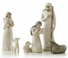 Willow Tree Nativity_sculpted hand-painted nativity figures, 6-piece set (26005)