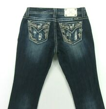 Miss Me EASY BOOT women's jeans Embellished Flap Pockets LOOK size 29 inseam 36