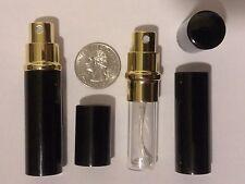 5ml Atomizer Mini Spray Perfume Cologne Bottle Refillable Travel Empty Glass USA