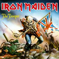IRON MAIDEN The Trooper BANNER HUGE 4X4 Ft Fabric Poster Tapestry Flag album art