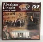 NEW American History Abraham Lincoln Triumph and Tragedy Jigsaw Puzzle 750-Piece