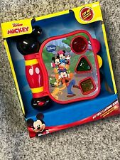 Disney Mickey Mouse Clubhouse My First Learning Book English Spanish Light Sound