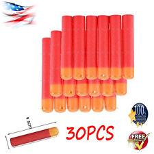 30Pcs RED Refill Darts Bullet Blaster For Nerf N-Strike Mega Toy Gun Pre-sale