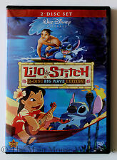 Lilo & Stitch 2 Disc Big Wave Edition DVD Max Bonus Features DisneyPedia Hawaii