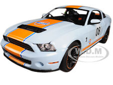 "BoxDamage 2012 FORD MUSTANG SHELBY GT500 ""GULF"" OIL #08 1/18 BY GREENLIGHT 12990"