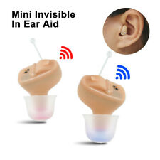 ITC Mini Voice Hearing Amplifier Invisible Hearing Aid Digital Sound Amplifier
