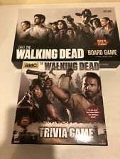 AMC the Walking Dead Board Game And Trivia Game 100% Complete Lot Of 2