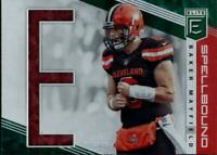 2019 ELITE SPELLBOUND GREEN BAKER MAYFIELD CLEVELAND BROWNS
