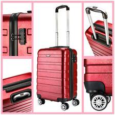 Hardshell Luggage Lightweight Travel Suitcase PC Case Cabin 20 inch Wine