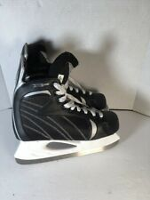 Euc Senior Winnwell Clean Sport Nxt Hockey X Lite black gray ice skates size 9