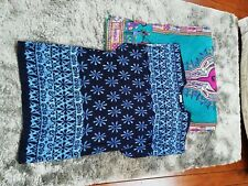 Two kaftan/cover up dresses free size