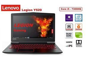 Lenovo Legion Y520 15.6'' FHD, i5-7300HQ, 256GB SSD + 500GB HDD, GTX 1050, Win10