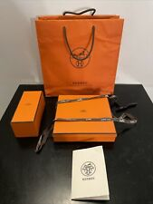 HERMES Authentic Small Empty Gift Storage Belt Box Assorted Sizes w/ Bag, Extras