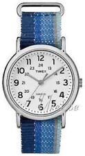 Relojes de pulsera Timex Weekender de acero inoxidable