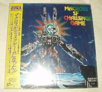 Super Dimension Fortress Macross SF Challenge Game LD Game Laserdisc With Obi